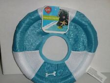 "Chill OUt! Dog Fetch PARAFLIGHT Flying Disc Frisbee Floating Toy 8"" Dog Toy"