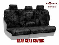 Coverking Kryptek Typhon Cordura Ballistic Rear Seat Covers for Chevy Silverado