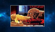 8 Bit Freddy Krueger Fridge Magnet. NEW. Inspired by Nightmare on Elm Street