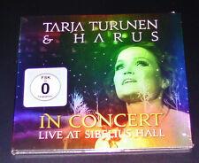 TARJA TURUNEN IN CONCERT LIVE AT SIBELIUS HALL CD SCHNELLER VERSAND NEU & OVP