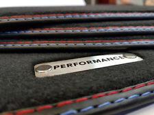 Performance Fußmatten 5er BMW F10 F11 Original Qualität Velours Metal Logo +4 Kl