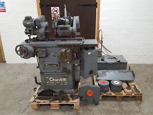 "Churchill Machine Tools Grinder Model OH 8"" Wheel Diameter Disc Grinding"