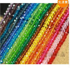 Wholesale New Faceted Crystal Loose Beads 3x4mm 100Pcs/4x6mm 100Pcs/6x8mm 70Pcs