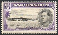 Ascension 1938 Views, KGVI 1/2d Fine Mounted MINT Stamp Perf 13 1/2 (13½)