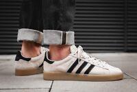 Adidas Originals Campus Clear Brown Beige Suede UK 10 Casuals Gazelle City 80s