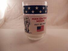 Glass 1969 Apollo 11 Eagle Tranquility Base Neil Armstrong NASA Man on the Moon