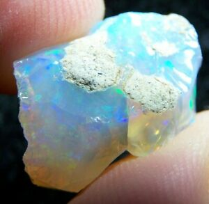 Ethiopian Opal Welo Rough * SEE VIDEO 13.02 CTs Bright 5/5 AAA Fire USA DEALER