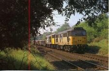 Diesel Locomotive Class 31 31294 Bletchley Bedford Landfill Train 1990s postcard