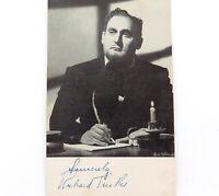 .c1940s AMERICAN OPERATIC TENOR RICHARD TUCKER HANDSIGNED CARD / LOBBY CARD.