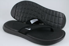 1c483ee12 NIKE ULTRA CELSO THONG BLACK WHITE FLIP FLOP BEACH SANDALS WATER US WOMENS  SIZES