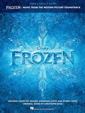 FROZEN MUSIC FROM THE MOTION PICTURE SOUNDTRACK SONGBOOK PIANO VOCAL GUITAR PVG