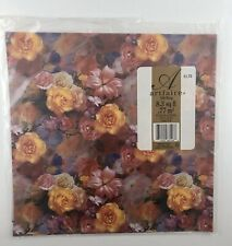 Vintage Artfaire Wrapping Paper/Gift Wrap Flowers