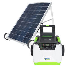 1800W Solar Generator 100W solar Panle Charging Power Supply System App Control