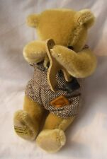 """Merrythought Bear Slingshot 8"""" Collectible Rare Mohair Fully Jointed Vintage"""