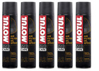 MOTUL A2 HUILE SPRAY FILTRE À AIR MOTO filtre à AIR huile spray 5 X 400 ml