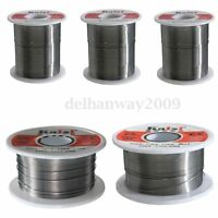 New 50g-500g 60/40 Tin lead Solder Wire Rosin Core Soldering 2% Flux Reel Tube