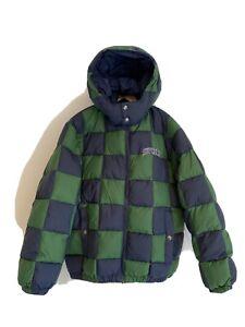 Supreme Checkerboard Puffy Jacket FW19 -Small