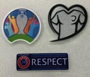 Toppa Patch Badge Calcio 2020 UEFA Euro Cup Qualifier Football Soccer respect NO