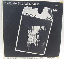 The Capitol Disc Jockey Album Jan. 1967 promo NM vinyl lp Lettermen Nancy Wilson