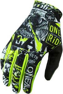 O'Neal Youth Matrix Attack Gloves - MX Motocross Dirt Off-Road MTB Boys Girls