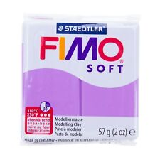 FIMO Soft Lavender - Clay Polymer Modelling 56g Oven Moulding Bake Colours 57g