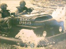 WWII U.S.A. Anfibio WATERBORNE MIGHTY MITE Base Marines Quantico fiume Potomac
