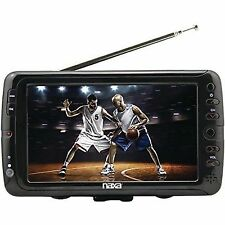 """Naxa NT-70 7"""" LCD Portable Rechargeable TV/Television+Digital Multimedia Player"""