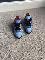 Air Jordan 4's x Travis Scotts 'Cactus Jack' Size 11.5 Barely Worn