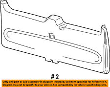 FORD OEM 03-06 Expedition Liftgate Tailgate Hatch-Trim Panel 3L1Z7846404AAA