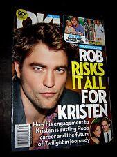OK WEEKLY September 21,2009 Rob risks all for Kristen Engagement TWILIGHT