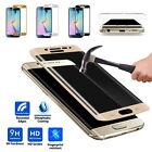 9H Panzer Glas Schutzfolie Displayschutzfolie 3D Gold für Samsung Galaxy S6 Edge