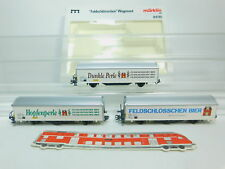 BL373-1# Märklin MHI H0/AC 84785 Feldschlösschen-Wagenset SBB NEM KK, NEUW+OVP