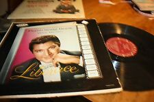 LP  Piano Song Book Movie Themes  Liberace