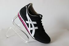 Onitsuka Tiger Womens Ultimate 81 Sneaker Shoes black pink  White Size 61/2 US