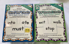 Key Education Touch & Trace Cards 2 Sets Of 30 Survival Words New