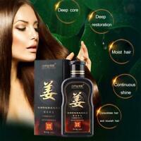 200ml Natural Ginger Shampoo Oil-Control Dandruff Hair Loss off Care S6I2