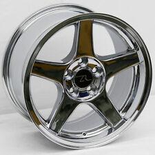 "(4) 17"" Chrome 03-04 Mustang Cobra Deep Dish Style Wheels 17x9 +25 5x114.3 SALE"