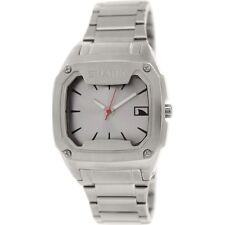 FREESTYLE Men's SHARK Classic Metal Wrist Watch - 101817 - SIL - NWT - Reg $300