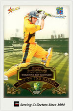 2007-08 Select Cricket Cards Man Of The Match MTM6 Ricky Ponting