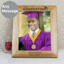 Graduation Wooden Rectangle Photo & Picture Frames