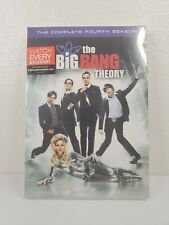 The Big Bang Theory: The Complete Fourth (4th) Season (DVD, 2011, 3-Disc Set)