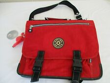 Kipling red satchel laptop Bag To Backpack