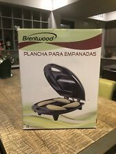 NEW*BRENTWOOD*Electric Non-Stick EMPANADA MAKER Baker Cooker Machine*4 PORTIONS