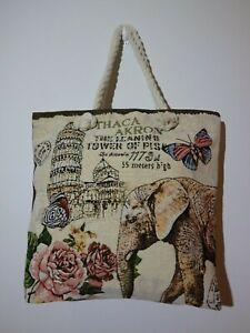 Women  Ladies  Beach Bag  Large Capacity Corduroy Shoulder Handbag