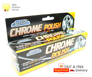 Car-Pride Chrome Metal Polish Tube Restores & Protects Brilliant Finish 70ml new
