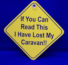 "Auto Diamond Hanger Sticker Decal -""If  you can read this I have lost my"