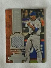 2013 Topps JOHAN SANTANA Chasing History - Game Used Jersey Baseball Card