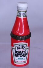 Porcelain Hinged Box Midwest Cannon Falls - Heinz Tomato Ketchup Bottle