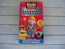 VHS Bob The Builder Bob's Favorite Adventures