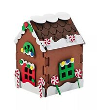 "9 Foam Gingerbread House Christmas Diy Craft Santa Kits 5.75"" Size New"